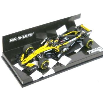 MINICHAMPS 1/43 ルノー スポーツ フォーミュラ ワン チーム RS18 ニコ・ヒュルケンベルグ 2018