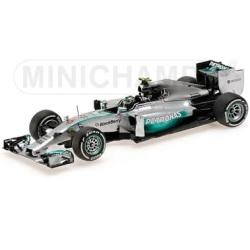 MINICHAMPS 1/43 メルセデス AMG ペトロナス F1 チーム W05 N.ロズベルグ 2014 本選仕様