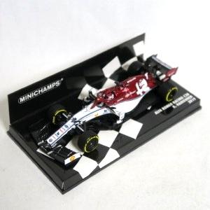 MINICHAMPS 1/43 アルファ ロメオ レーシング F1 C38 キミ・ライコネン 2019