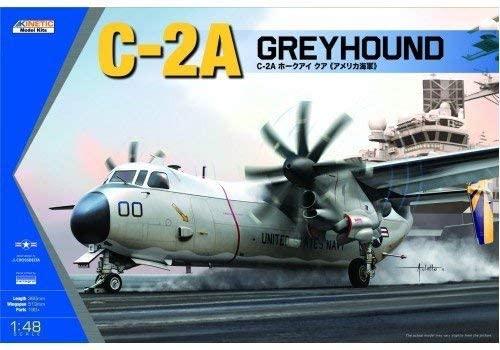 新作製品、世界最高品質人気! 5☆大好評 キネティック 1 48 アメリカ海軍 グレイハンド 艦上輸送機 C-2A プラモデル