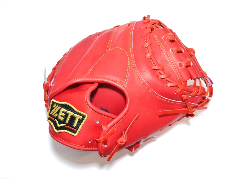野球 ゼット ZETT プロステイタス 軟式 キャッチャーミット ディープオレンジ 日本製 BRCB-30932 【型付け無料】