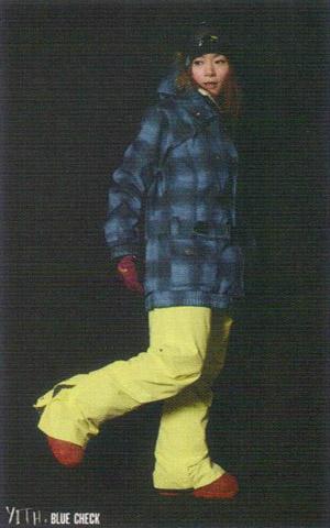 SCAPE ウェア エスケープ SNOW ウエア YITH JACKET BLUE CHECK 11-12モデル 送料無料!