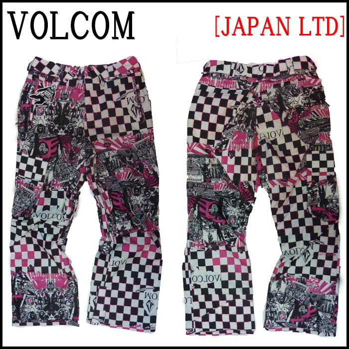 VOLCOM ウェア メンズ パンツ VENTRAL PANT (ベントラルパンツ) 14-15モデル スノーボード スノボ ウェアー リミテッド JAPAN LIMITED サイズ:S  XS