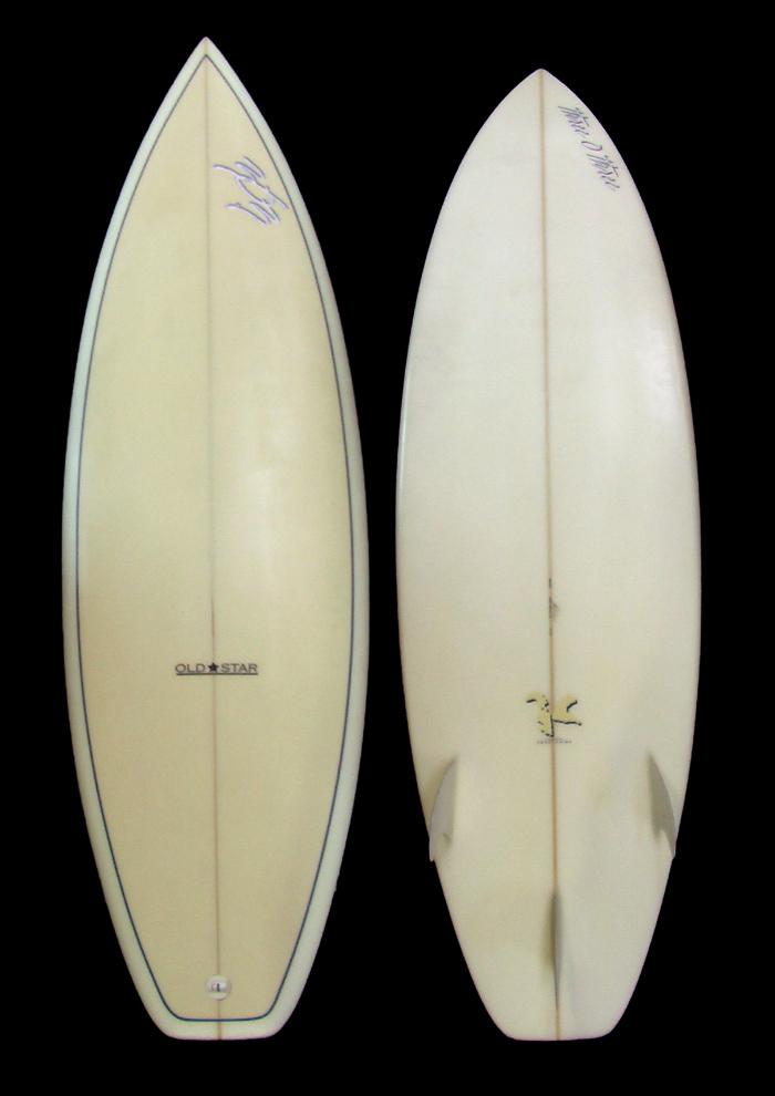 3o3 サーフボード 【three O three】SURFBOARD サーフボード 【OLD STAR】 千葉公平シェイプ 188cm 303