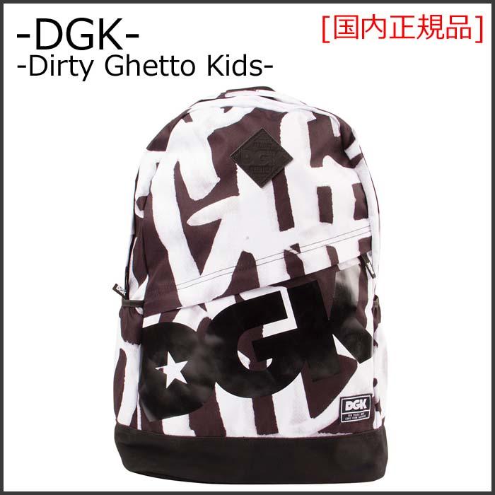 DGK (Dirty Ghetto Kids) ディージーケー GETTING UP BACKPACK バックパック (リュック) 鞄 スケートボード ブランド