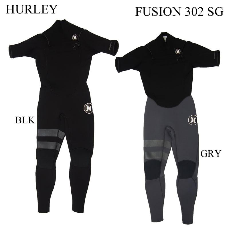 HURLEY ハーレー ウェットスーツ シーガル FUSION C-ZIP 302 フュージョン シーガル WETSUITS 国内正規品 2017年モデル