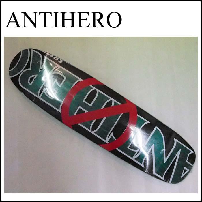 [正規品] ANTIHEROデッキ [ANTI ANTI CRUISER] 【アンチヒーロースケートボード】 スケートボード クルーザー スケートボードデッキ / スケボー / クルージング【アンタイヒーロー】