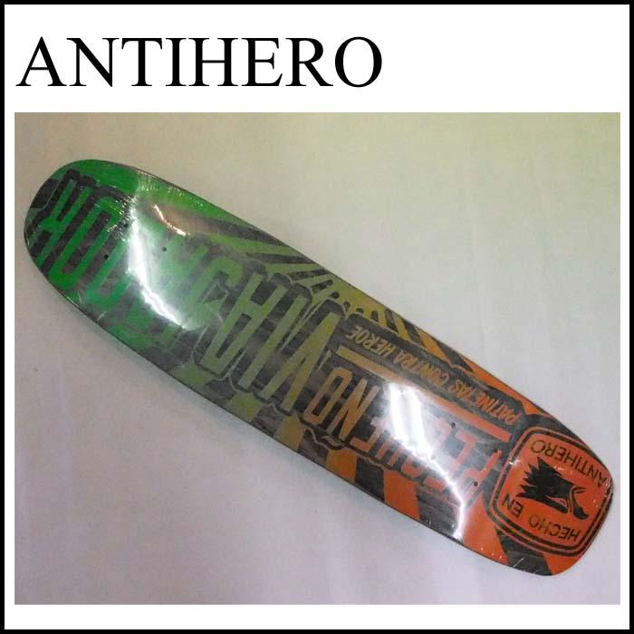 [正規品] ANTIHEROデッキ [クルーザー CRUISER] 【アンチヒーロースケートボード】 スケートボード クルーザー スケートボードデッキ / スケボー / クルージング【アンタイヒーロー】