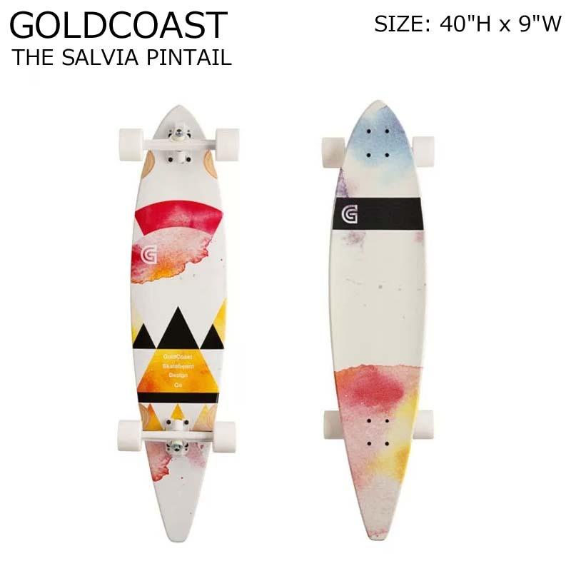 GOLDCOAST クルーザー コンプリート スケートボード ロングボード ロンスケ THE SALVIA PINTAIL SKATEBOARD スノーボード オフトレ ゴールドコースト