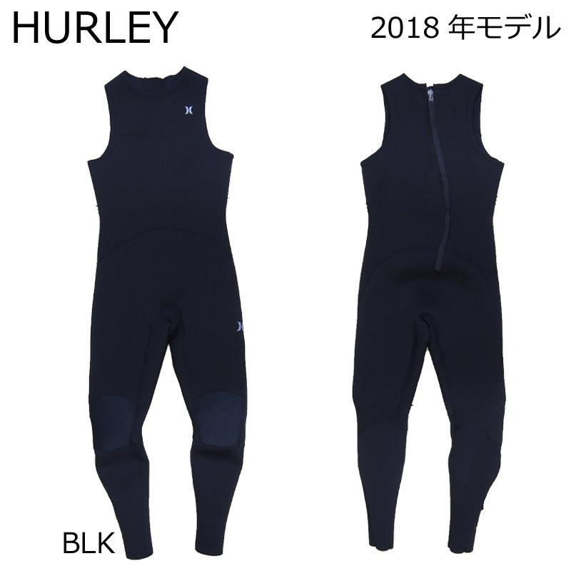HURLEY ハーレー ウェットスーツ メンズ 3mm × 2mm ロングジョン ADVANTAGE PLUS アドバンテージプラス MZJJAD18 サーフィン用 2018年モデル