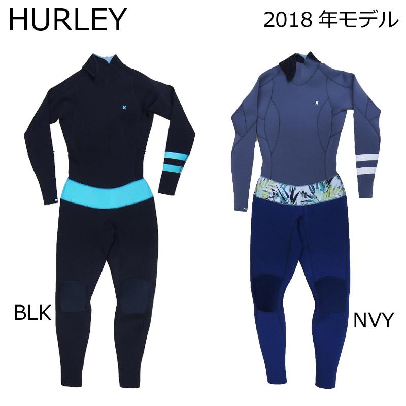 HURLEY ハーレー レディース ウェットスーツ ICON 302 FULL アイコン 3mm フルスーツ WETSUITS 国内正規品 2018年モデル サーフ サーフィン