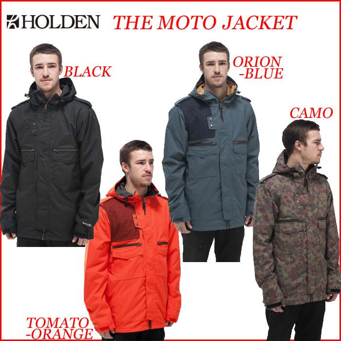 14-15 HOLDEN ホールデン MOTO JACKET スノーボード ウェア ジャケット【スノボウェア】 型落ち 旧品 セール