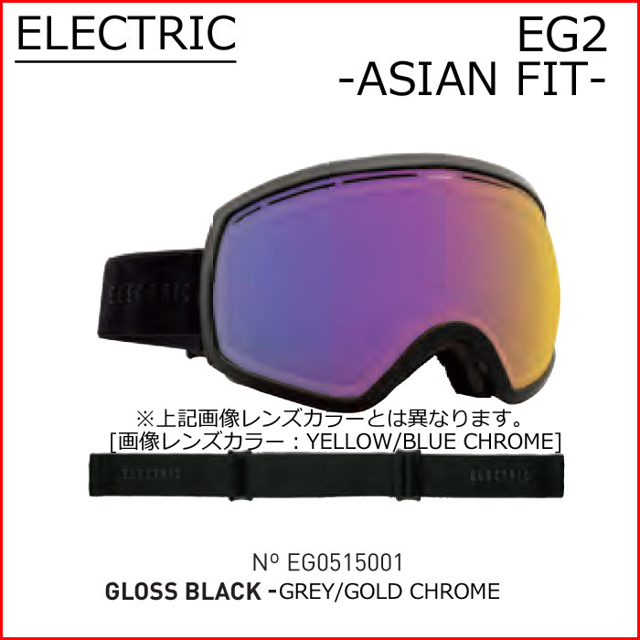 Electric goggles 15-16 ELECTRIC EG2 snowboard goggles SNOWBOARD GOGGLE fit Japan lens GLOSS BLACK