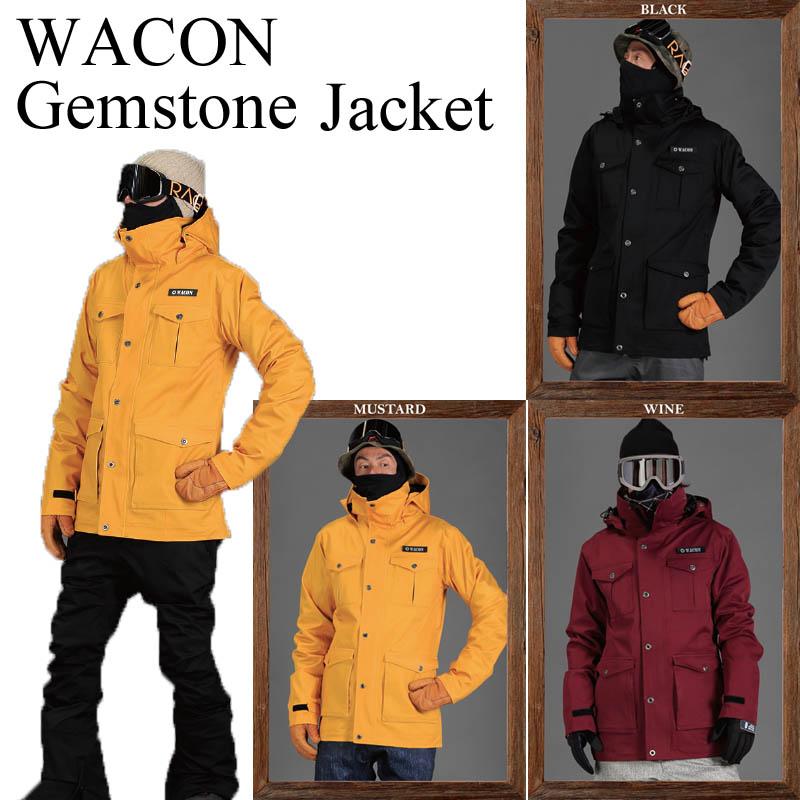 17-18 WACON ワコン ウェア GEMSTONE JACKET ジャケット スノーボードウェア SNOWBOARD WACON