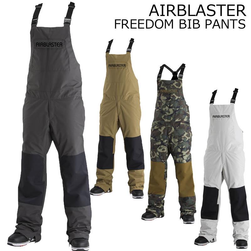 18-19 AIRBLASTER エアーブラスター フリーダムビブパンツ FREEDOM BIB PANTS スノーボードウェア SNOWBOARD エアブラスター