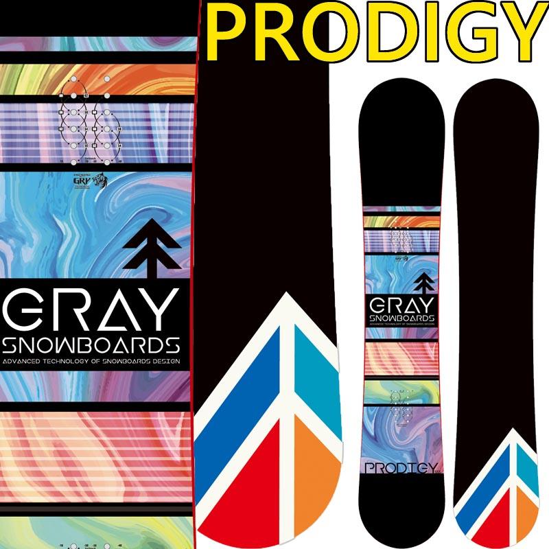 19-20 グレー プロディジー GRAY PRODIGY スノーボード グレイ SNOWBOARD メンズ レディース スノボー 板 国産