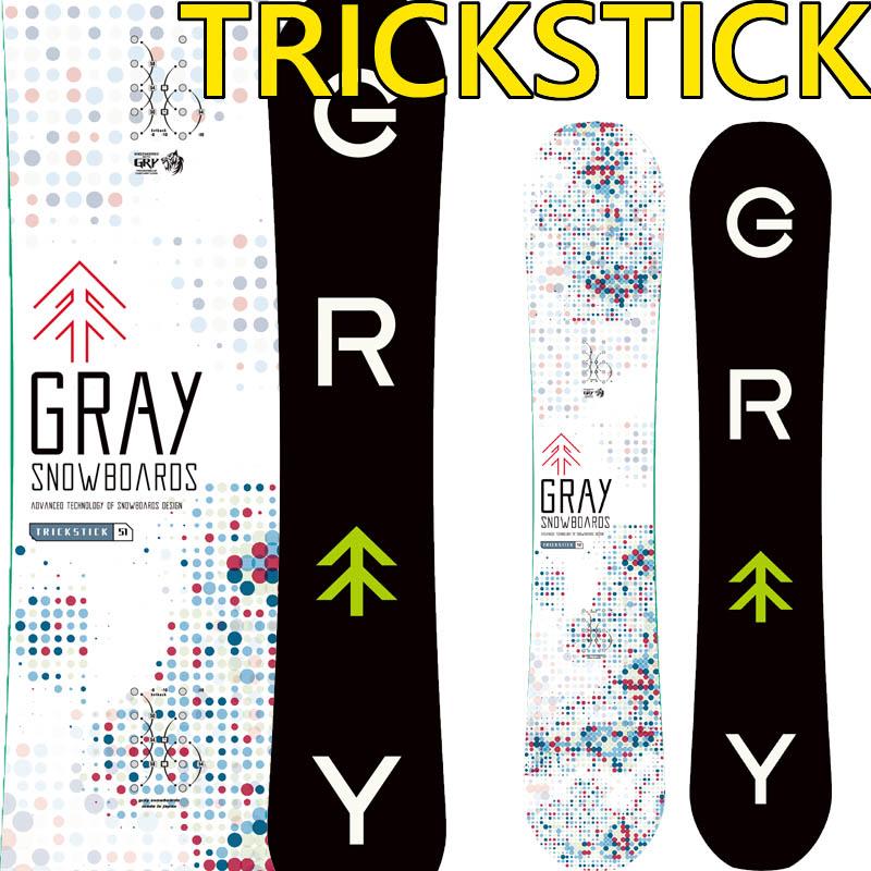 19-20 グレー グレー TRICKSTICK トリックスティック GRAY TRICKSTICK スノーボード グレイ SNOWBOARD 板 メンズ レディース グラトリ スノボー 板 国産, アップリカー 南海:9d184ef7 --- sunward.msk.ru