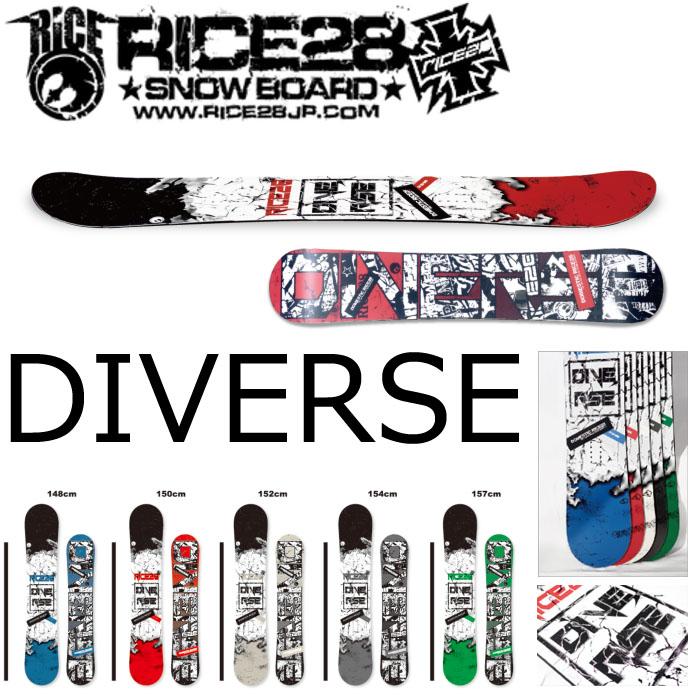 19-20 RICE28 SNOWBOARD DIVERSE ライス28 ディバース ディバース スノーボード メンズ 板 DIVERSE グラトリ スノボー SNOWBOARD, ミホノセキチョウ:5bd8e086 --- sunward.msk.ru