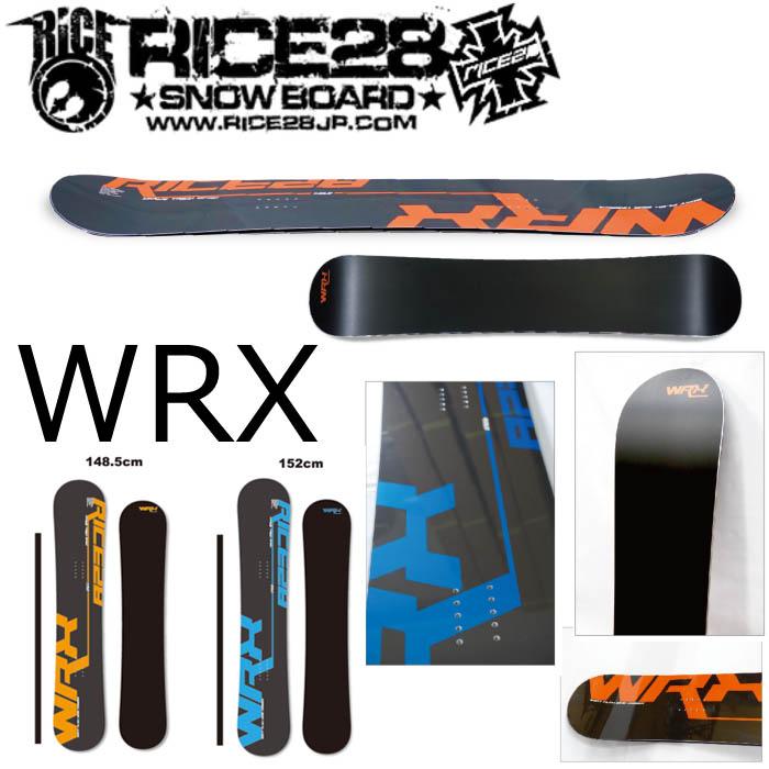 19-20 RICE28 WRX ライス28 ダブリューアールエックス スノーボード メンズ 板 グラトリ スノボー SNOWBOARD