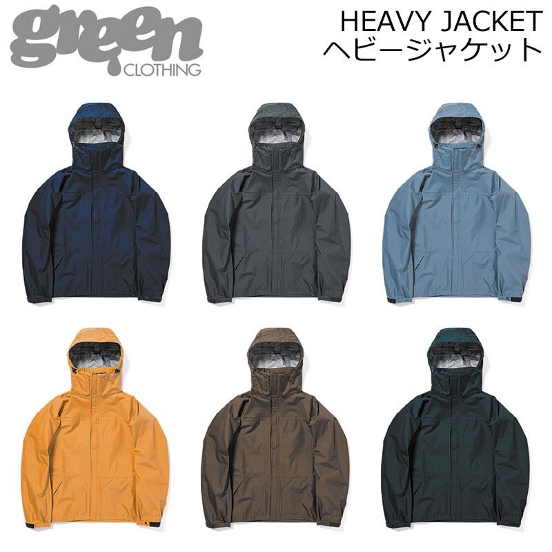 19-20 GREEN CLOTHING グリーンクロージング HEAVY JACKET ヘビージャケット スノーボードウェア SNOWBOARD WEAR 予約商品