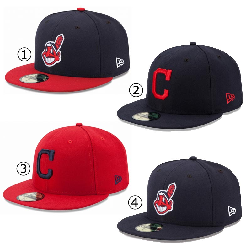 New gills cap Cleveland Indians NEWERA MLB AUTHENTIC COLLECTION 59FIFTY CAP  CLEVELAND INDIANS Major League baseball baseball team NEW ERA ※MLB f752effad2f