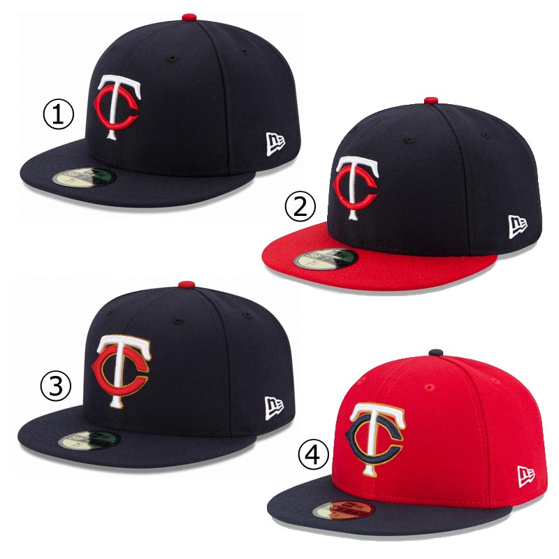 New gills cap Minnesota Twins NEWERA MLB AUTHENTIC COLLECTION 59FIFTY CAP  MINNESOTA TWINS Major League baseball baseball team NEW ERA ※MLB 5432ace896c