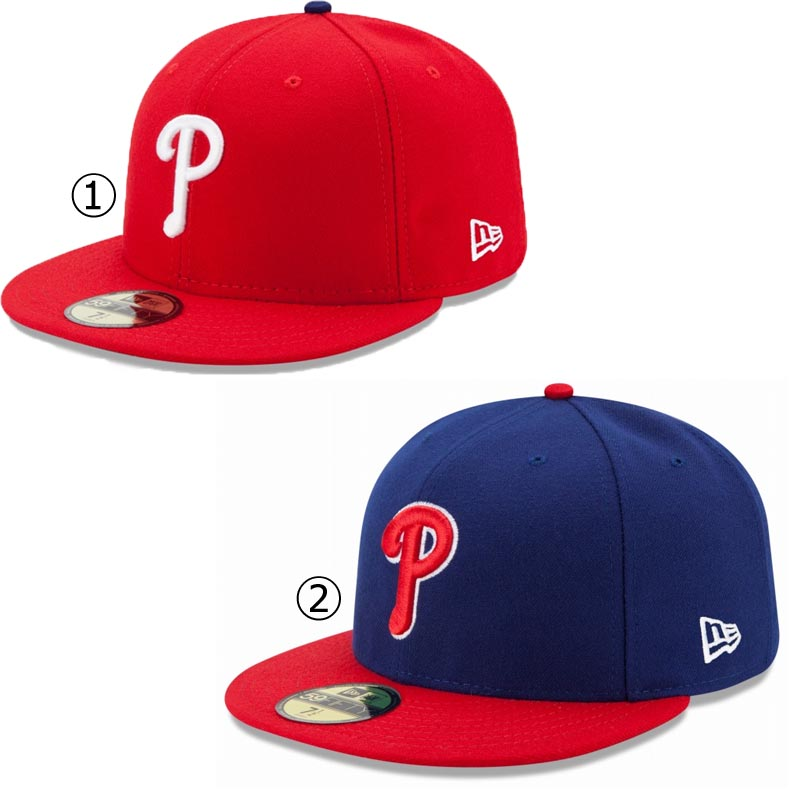 New gills cap Phillies NEWERA MLB AUTHENTIC COLLECTION 59FIFTY CAP  PHILADELPHIA PHILLIES Major League baseball baseball team NEW ERA ※MLB 3fb203457bb