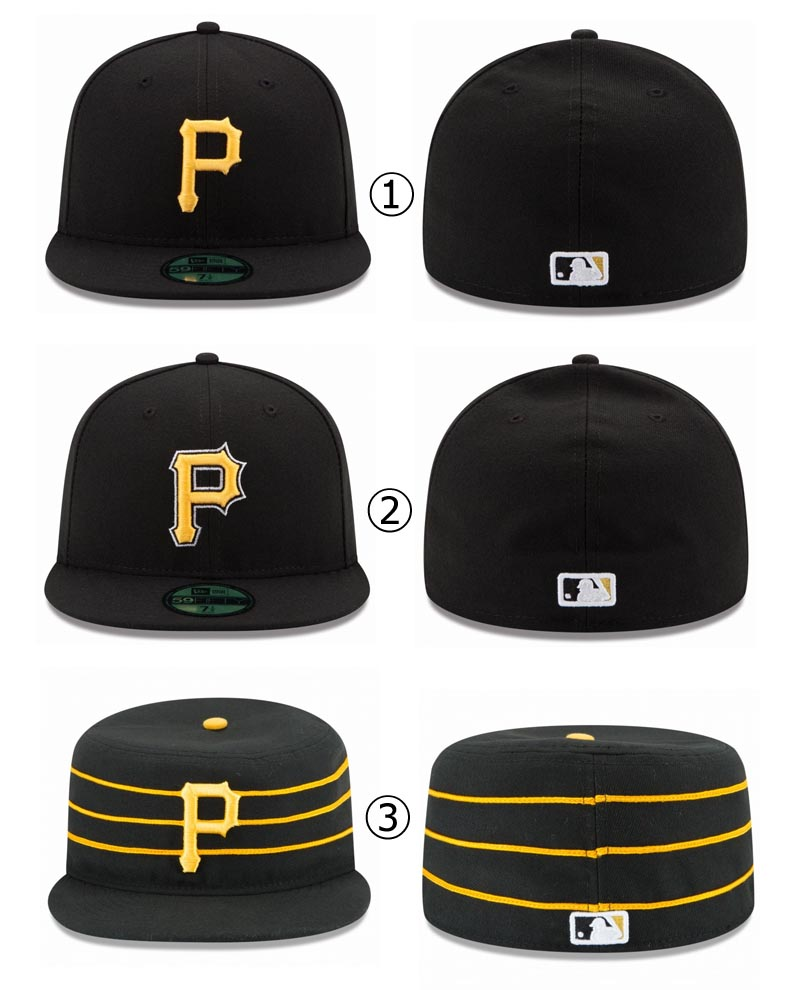 new style 46fcb b5020 ... New gills cap Pittsburgh Pirates NEWERA MLB AUTHENTIC COLLECTION 59FIFTY  CAP PITTSBURGH PIRATES Major League baseball ...