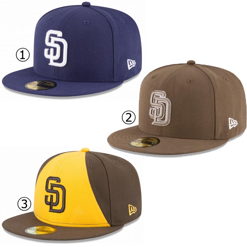 New gills cap San Diego Padres NEWERA MLB AUTHENTIC COLLECTION 59FIFTY CAP  SAN DIEGO PADRES Major League baseball baseball team NEW ERA ※MLB cdbddbfc51f