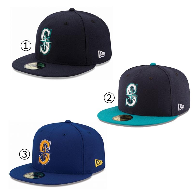 654b8b63672 New gills cap Seattle Mariners NEWERA MLB AUTHENTIC COLLECTION 59FIFTY CAP  SEATTLE MARINERS Major League baseball baseball team NEW ERA ※MLB
