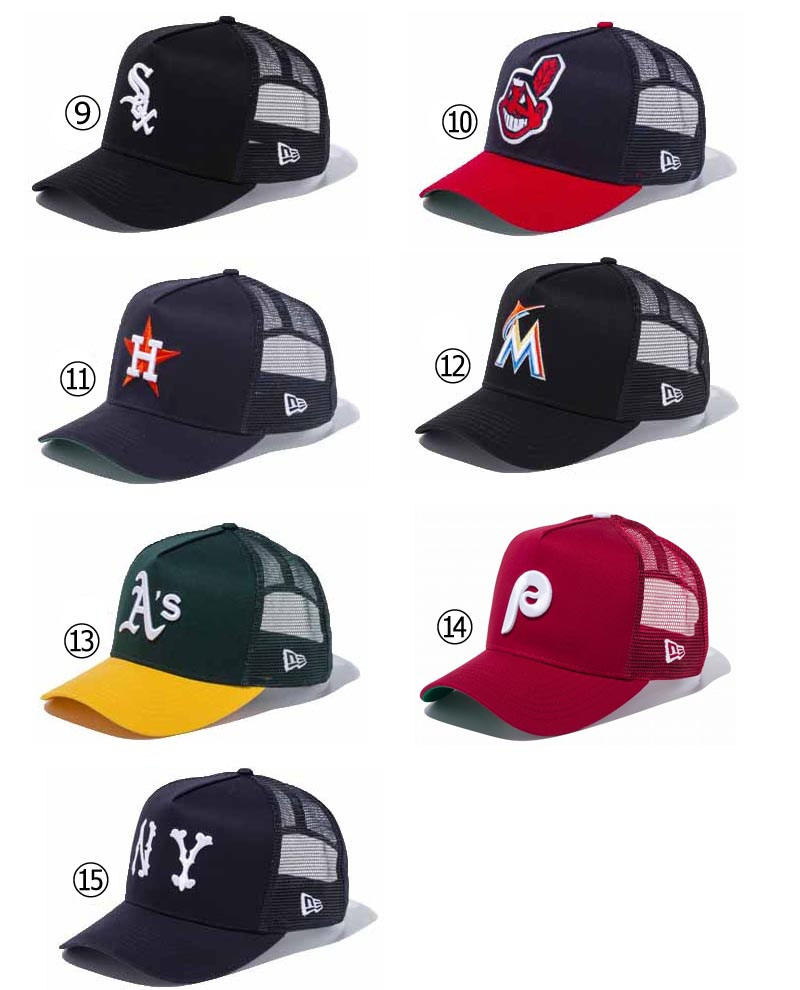 04a93329ffe New gills mesh cap 9FORTY D-FRAME TRUCKER 940 MLB CAP baseball hat baseball cap  Major League team NEW ERA ※MLB