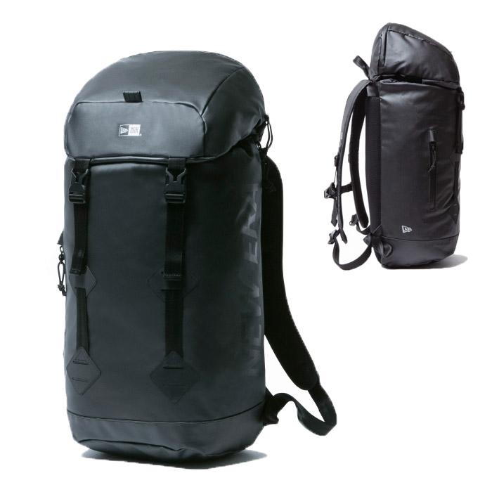 ニューエラ リュック NEWERA バッグ Rucksack ラックサック BACKPACK バックパック 鞄 BAG ロゴ 学生 ストリート系 プリントロゴ ブラックターポリン