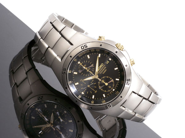 Seiko SEIKO watches titanium chronograph SND451P1