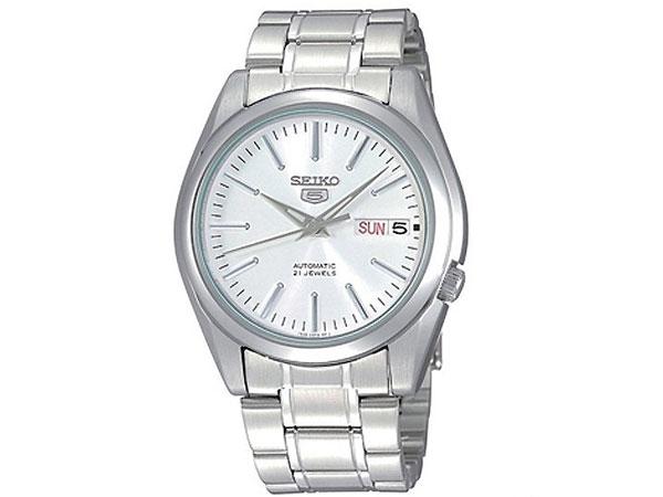 SEIKO 5 セイコー5 逆輸入 自動巻き メンズ 腕時計 SNKL41K1 メタルベルト