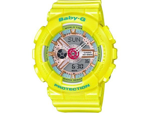 カシオ CASIO ベビーG BABY-G 逆輸入 アナデジ レディース 腕時計 BA-110CA-9A