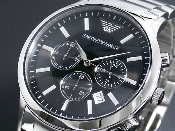 ecf4518ebbe1 AAA net shop  Emporio Armani EMPORIO ARMANI watch AR2434 men black X ...