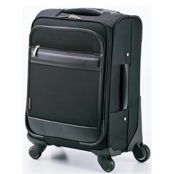 ジャーメインギア 4輪 スーツケース キャリーケース 機内持ち込み 15164 ブラック