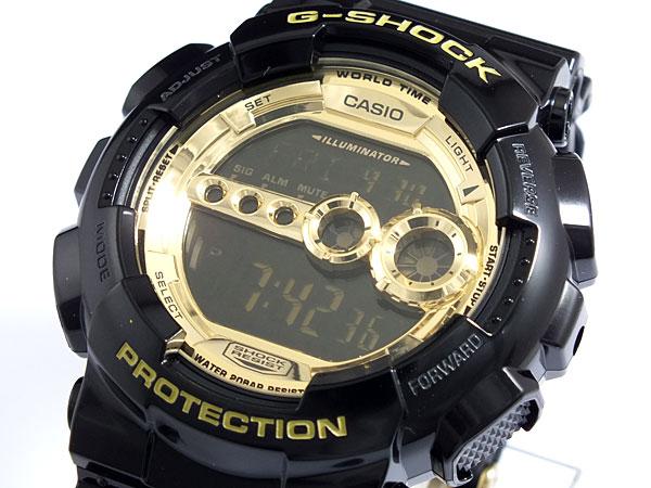 カシオ Gショック CASIO 腕時計 高輝度LED GD100GB-1