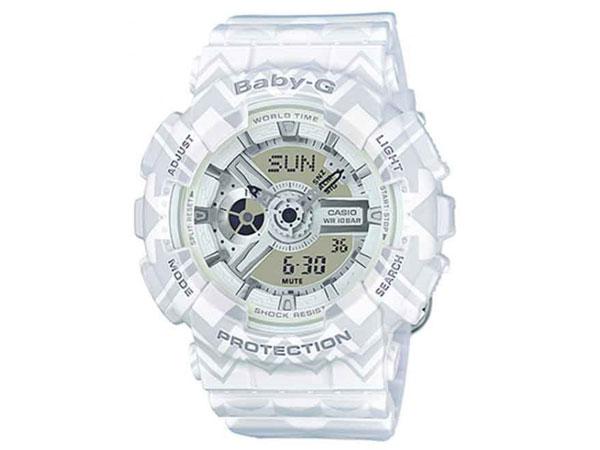 カシオ CASIO ベビーG BABY-G 逆輸入 アナデジ レディース 腕時計 BA-110TP-7A