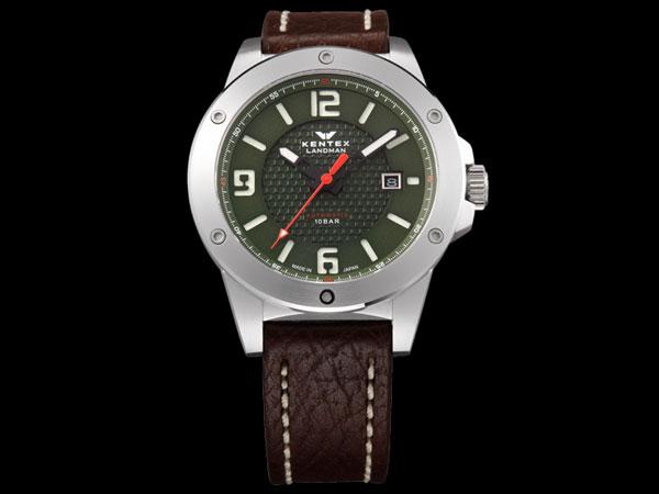 ケンテックス KENTEX ランドマン アドベンチャー 腕時計 メンズ S763X-02