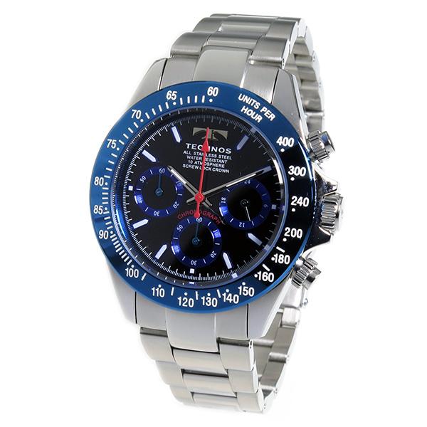 Aaa net shop technos technos watches men 39 s tsm401sn chronograph rakuten global market for Technos watches