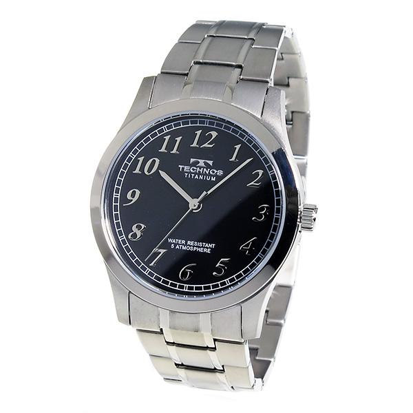 Aaa net shop technos technos watches mens tsm905ib titanium titanium rakuten global market for Technos watches
