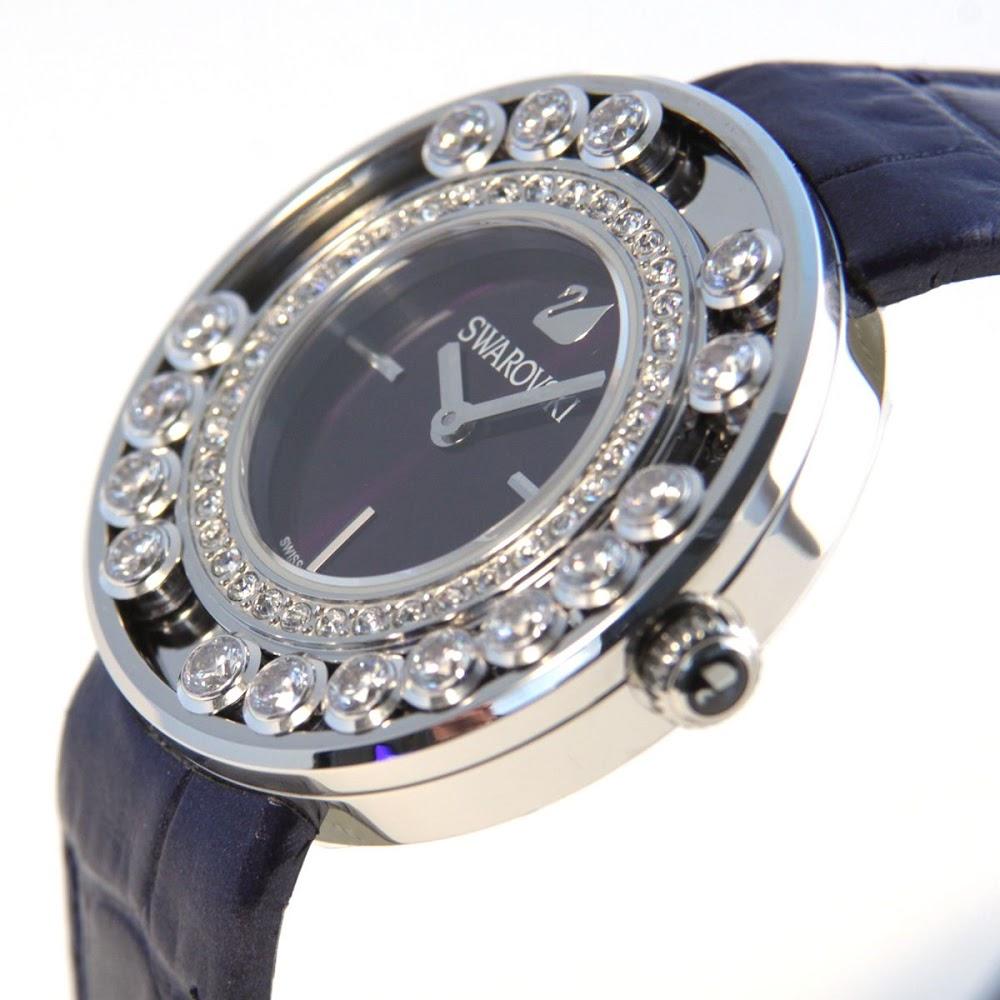 스왈로브스키 SWAROVSKI 5027205 레이디스 손목시계 Lovely Crystals Aubergine(라브리크리스타르즈)