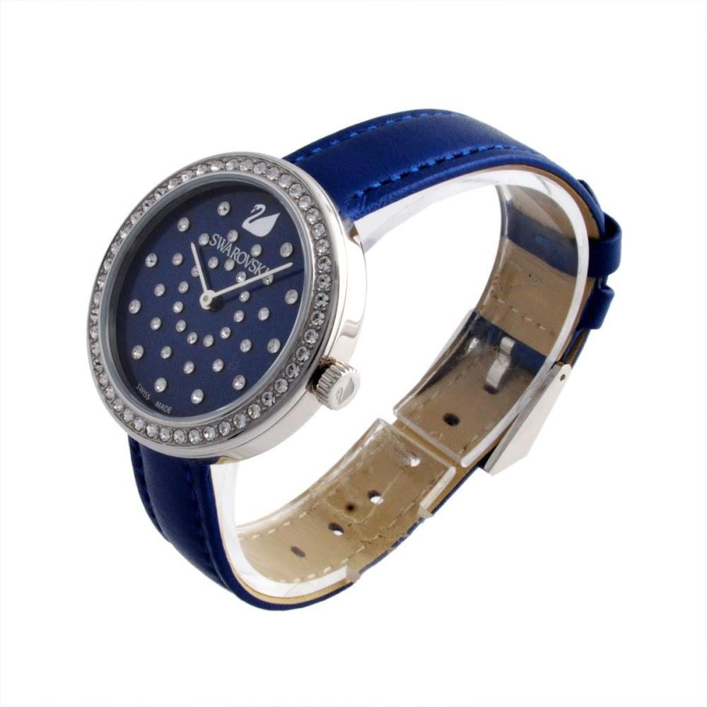스와로브스키 SWAROVSKI 5235485 여성용 손목시계 Daytime Blue (데이)