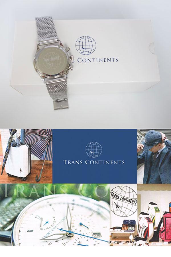 트란스콘치넨트 TRANS CONTINENTS 손목시계 맨즈 40 mm TC-HE-002
