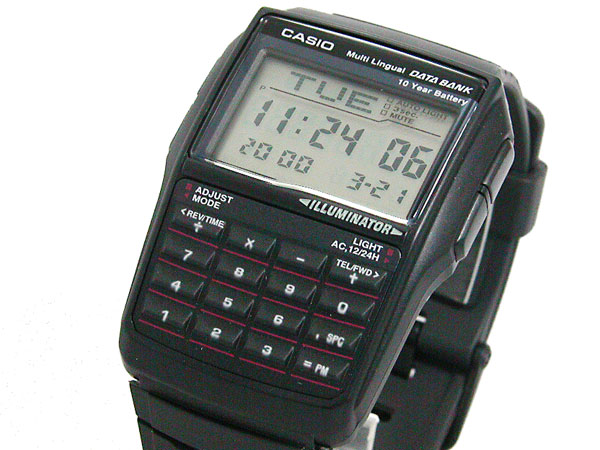 Casio CASIO databank DATA BANK watch DBC32-1 A