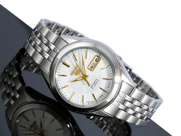 Home · Seiko Watch 5 Automatic Silver Stainless Steel Case Stainless Steel Bracelet Mens Japan Nwt Warranty Snkk79k1; Page - 2. SEIKO 5 SEIKO 5 SNKL17J1 2