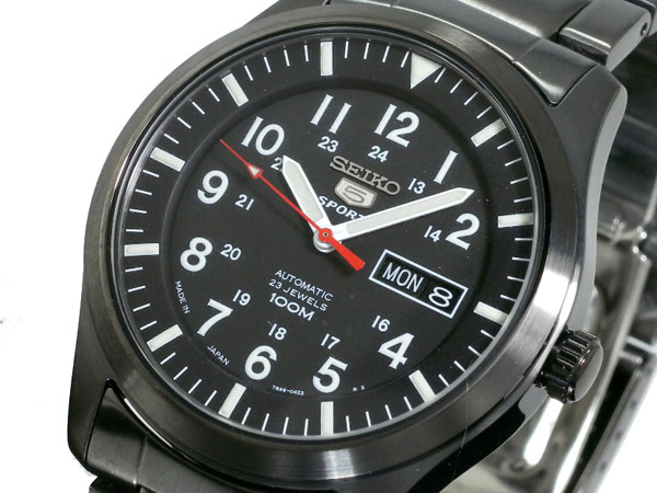 Seiko 5 SEIKO five sports watch automatic self-winding SNZG17J1