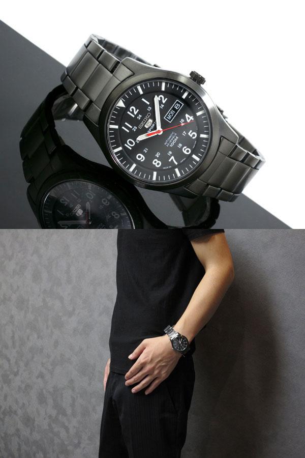 세이코 5 SEIKO 파이브스포트 손목시계 자동 권SNZG17J1