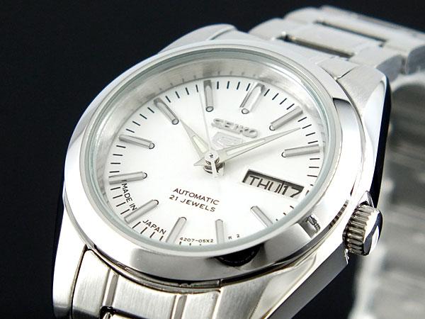 セイコー SEIKO セイコー5 SEIKO 5 日本製 自動巻き レディース 腕時計 SYMK13J1 シルバー ブレスレット